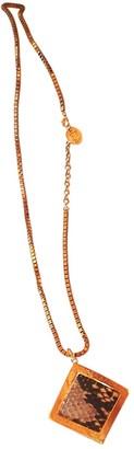 Versace Gold Metal Necklaces