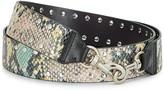 Rebecca Minkoff Snake Studded Guitar Strap