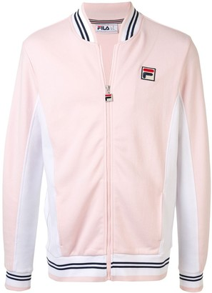Fila Logo Embroidered Sport Jacket