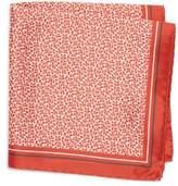 BOSS Floral Silk Pocket Square