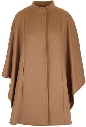 Max Mara Addi Poncho Coat