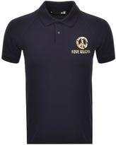 Love Moschino Short Sleeve Polo T Shirt Navy