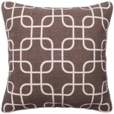 Loloi DSETP0175BRIVPIL3 DSET 100-Percent Cotton Cover with Down Fill Decorative Accent Pillow