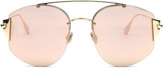 Christian Dior Round Frame Aviator Sunglasses