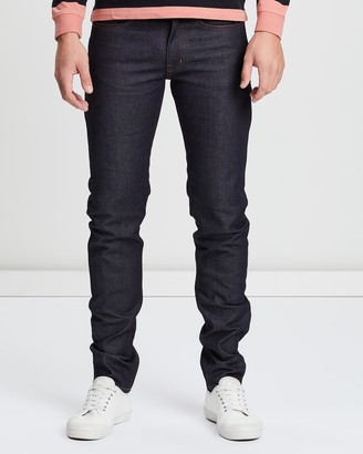 Kent And Curwen Skinny Fit Raw Denim Jeans