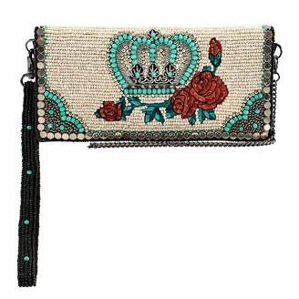 Mary Frances Women's Full of Valor Crossbody Wallet