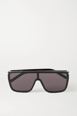 Saint Laurent Mask Ace D-frame Acetate Sunglasses