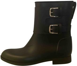 Ralph Lauren Black Rubber Boots