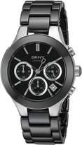 DKNY Women's NY4914 CHAMBERS Analog Display Analog Quartz Watch