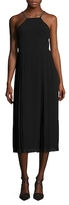 Rachel Roy Chain Chiffon Pleated Midi Dress