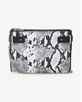 Express 2-in-1 Snake Cross Body Bag