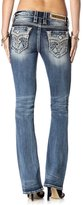 Rock Revival Jeans Women's Ena B204 Boot Cut Fluer De Lis