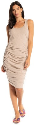 Synergy Sophia Sleeveless Ruched Side Dress