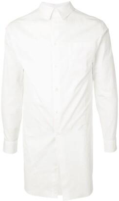 Comme des Garcons Pearls Print Long Shirt