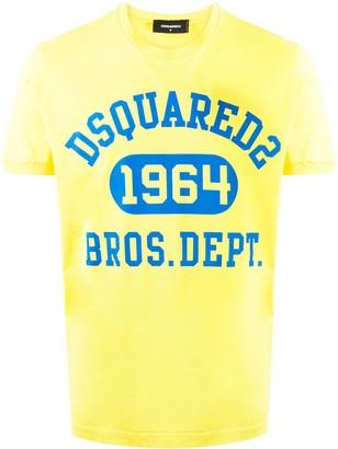 DSQUARED2 logo print crew neck T-shirt