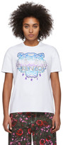 Kenzo White Limited Edition Holiday Tiger T-Shirt