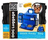 Overland Travelware Overland Dog Gear Travel Bag - Week Away Bag for Small Dogs with 2 Food Carriers, Placemat & 2 Bowls