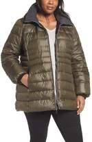 Andrew Marc Plus Size Women's Erin Hooded Down Coat