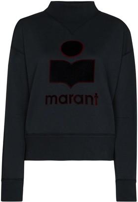 Etoile Isabel Marant Moby logo-print sweatshirt
