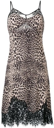 McQ Animal Print Cami Dress