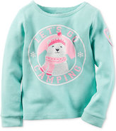Carter's Graphic-Print Thermal Top, Toddler Girls (2T-4T)