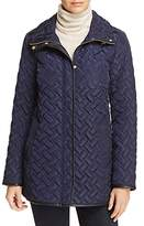 Cole Haan Zip-Front Quilted Jacket