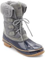 Khombu Navy & Grey Jilly Snow Boots