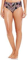 Alex Marie Paisley Shirred Side Bottom