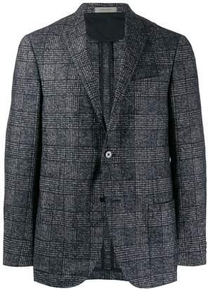 Corneliani check pattern blazer