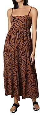 Faithfull The Brand Corvina Animal Print Maxi Dress