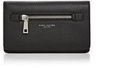 Marc Jacobs Gotham Flat Leather Phone Wallet