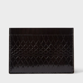 Paul Smith No.9 - Black Patent Leather Card Holder