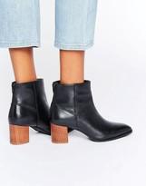 Park Lane Wood Heel Boots