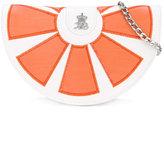 Xavem Kids - orange wedge shoulder bag - kids - Leather - One Size
