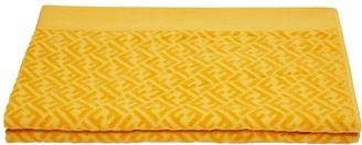 Fendi FF logo beach towel