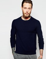 Ted Baker Textured Knitted Jumper