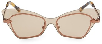 Karen Walker 53MM Mrs Brill Cat-Eye Sunglasses