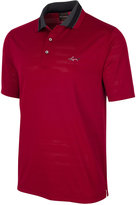 Greg Norman For Tasso Elba Men's Jacquard Mesh Polo, Only at Macy's