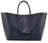 Nancy Gonzalez Large Crocodile Convertible Tote Bag