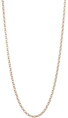 "Tamara Comolli 18K Rose Gold Belcher-Link Chain Necklace/20""-23"""