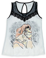 Disney Simba and Nala Lace Tank Top for Women by Boutique