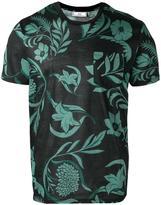 Ami Alexandre Mattiussi floral print T-shirt - men - Cotton - XS