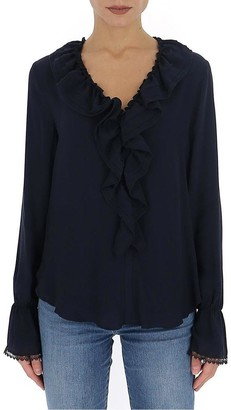 See by Chloe Jabot Blouse
