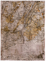 Torre & Tagus Vintage NY Map - 34x44