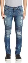 Hudson Blinder Biker Super Slim Fit Jeans in Faction