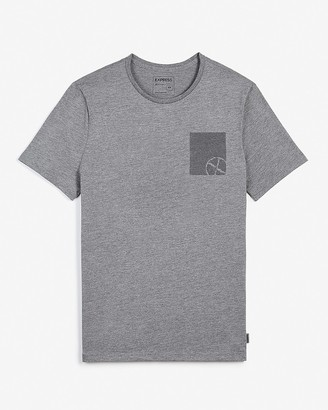 Express Double Logo Graphic T-Shirt