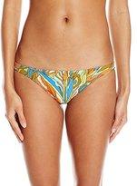 Volcom Women's Faded Flowers Full Bikini Bottom