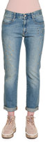 Stella McCartney Star-Studded Denim Boyfriend Jeans