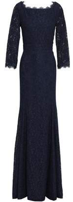 Diane von Furstenberg Corded Lace Gown