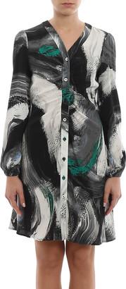 Diane von Furstenberg Calico Dress
